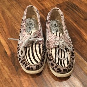 Unique Animal Print Sperry Top-Sider's
